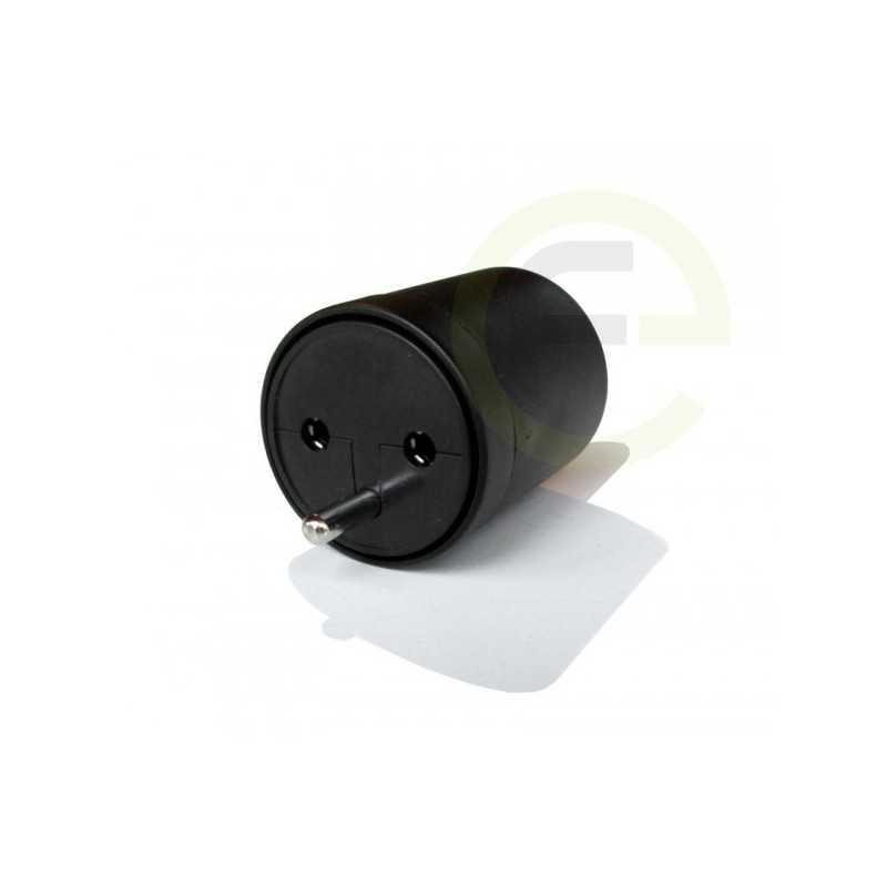 fix adapter stecker schuko typ f cee 7 zu schweiz t12 3 polig. Black Bedroom Furniture Sets. Home Design Ideas