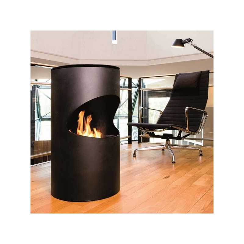 silo bioethanol kamin als zusatzheizung. Black Bedroom Furniture Sets. Home Design Ideas