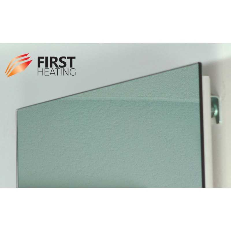 First heating wist elegant miroir chauffant infrarouge for Miroir chauffant