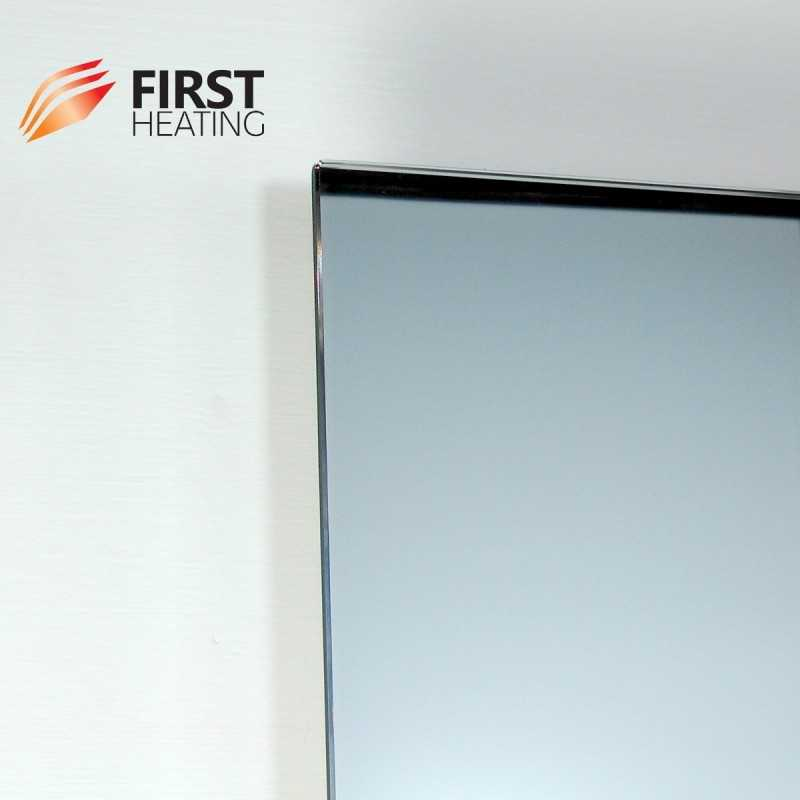First heating wist elegant miroir chauffant infrarouge for Miroir infrarouge