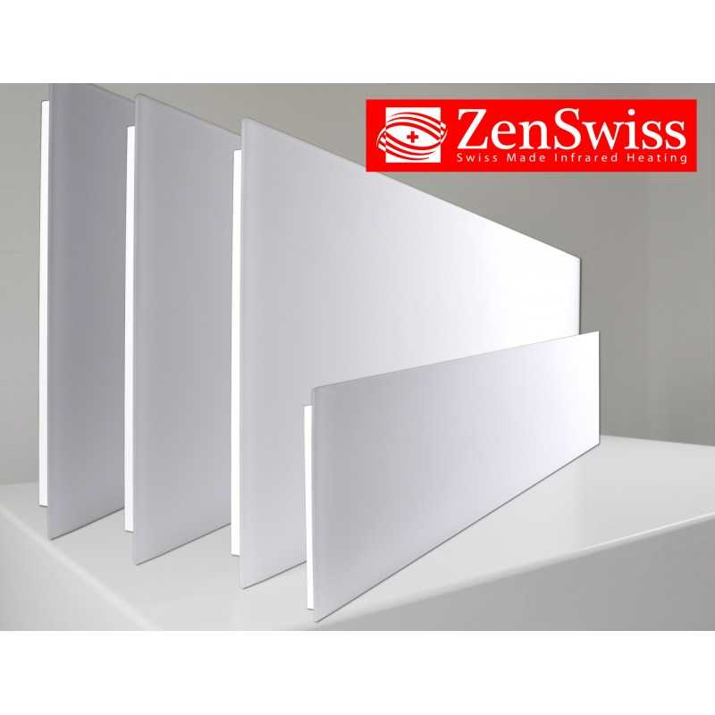 ZenSwiss Deluxe chauffage infrarouge avec faible consommation d ...