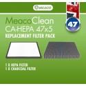 MeacoClean HEPA 47x5 Ersatzfilter
