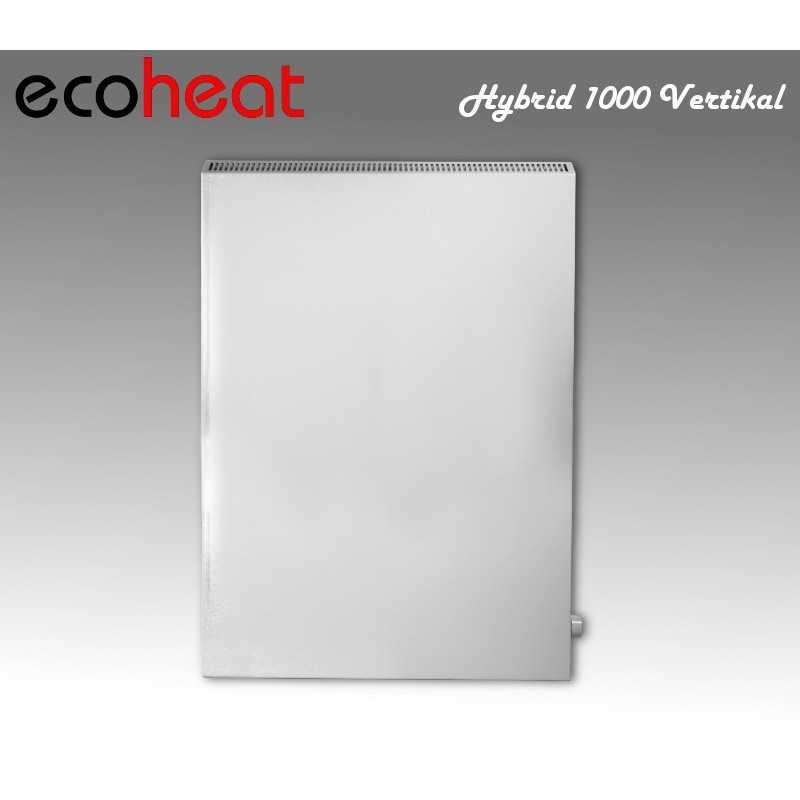 ecoheat chauffage infrarouge hybride 600 1400 watt