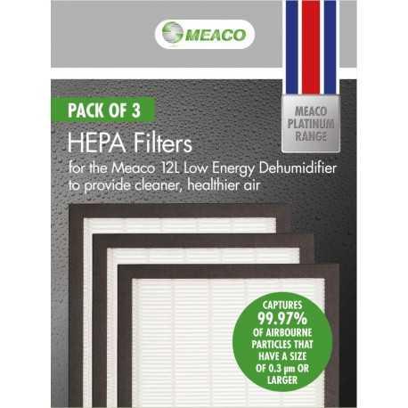 HEPA Filter für Meaco Low Energy Luftentfeuchter