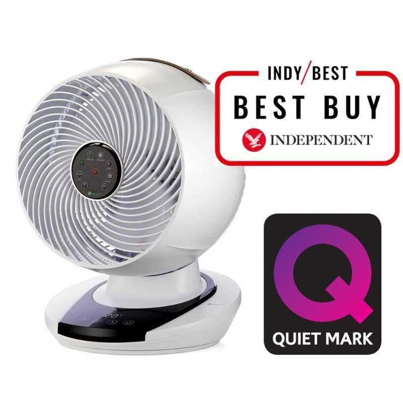 chambre /à coucher Blanc Meacofan 260c Ventilateur de bureau mini extr/êmement silencieux autonomie de 14 heures /économe en /énergie ventilateur sans fil