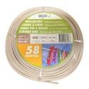 ecofort ecoQ corde à linge 58 m