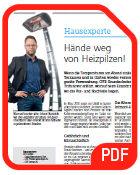 Achtung Heizpilze - GVB empfiehlt Infrarot-Heizstrahler anstatt Heizpilze