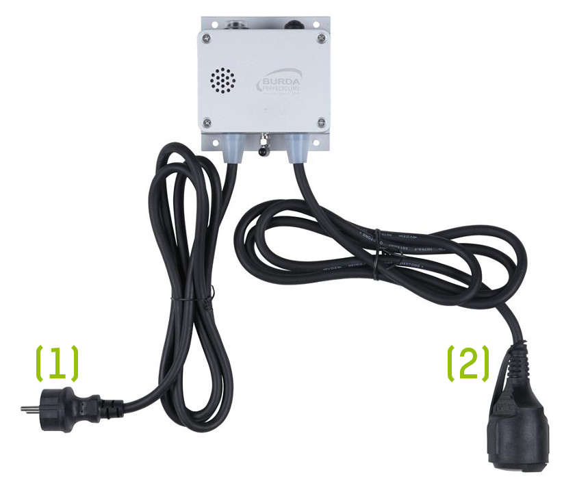 Burda BTD3 Dimmer mit Bluetooth Steuerung und Schuko Anschluss