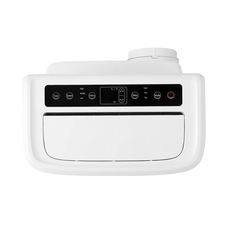 ecoQ CoolAir 10 bietet drei Funktionen (Luftentfeuchtung, Ventilator, Kühlung) bei einfacher Bedienung