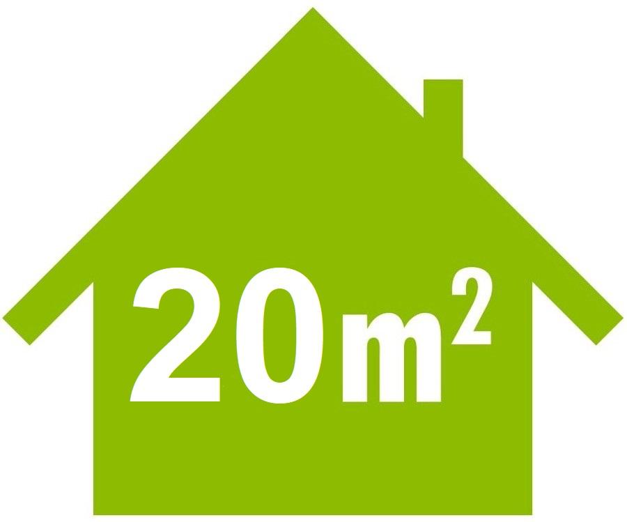 Mobile Klimaanlage für Räume bis 20 m²