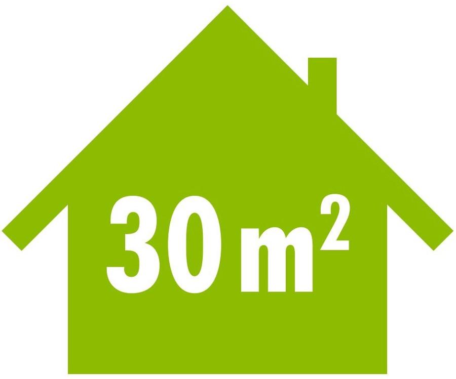 Mobile Klimaanlage für Räume bis 30 m²
