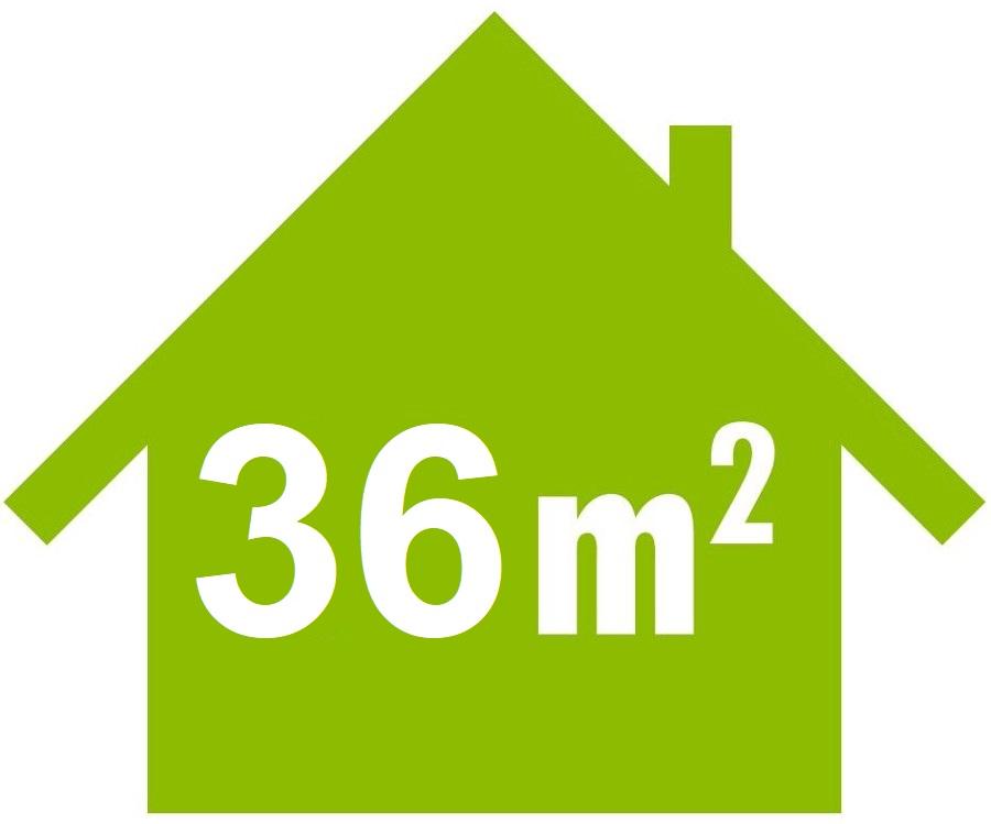 Mobile Klimaanlage für Räume bis 36 m²
