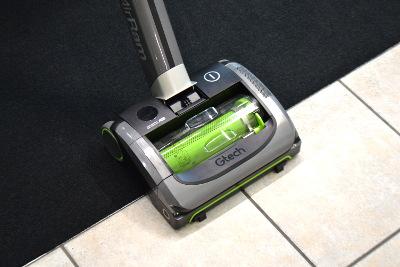 Gtech AirRam K9 - Wechsel von Teppich auf Plattenboden