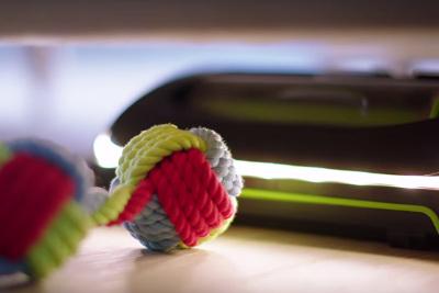 Staubsauger mit integrierter Beleuchtung