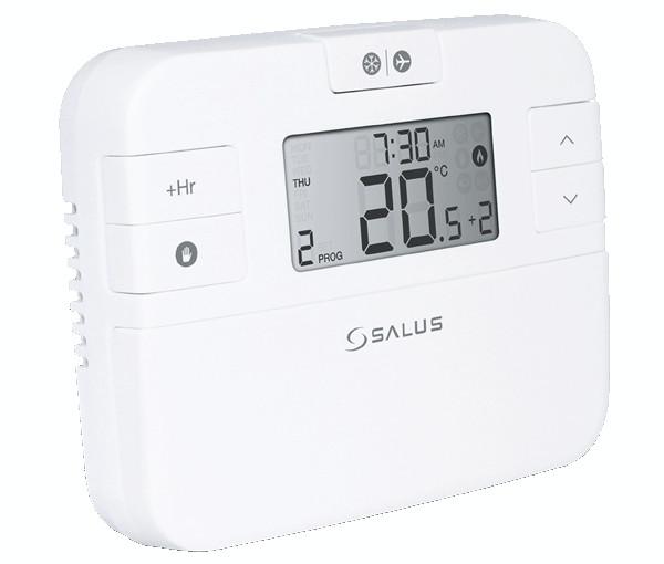 2x Salus RT520RF digital programmable sans fil Thermostat Chaudière plus